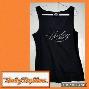 Genuine Harley Davidson Bling Tank Top